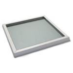 Domelight glass window